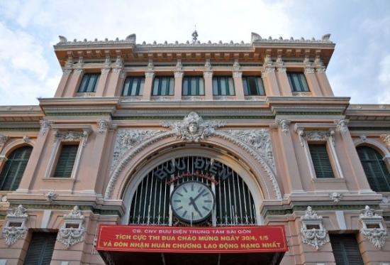 ไปรษณีย์กลาง: 07-May Day 2~ Ho Chi Minh City 胡志明市  Central Post Office