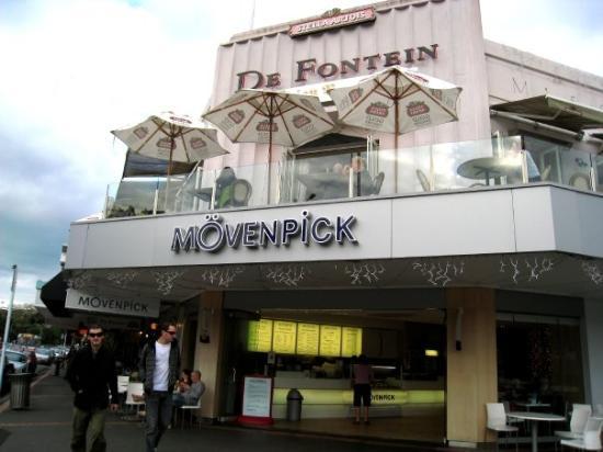 Auckland, New Zealand: MOVENPICK專賣店, 不過無食到