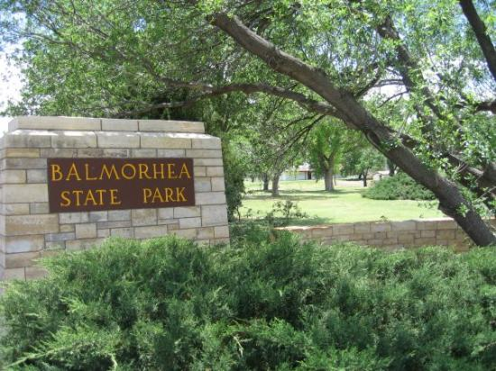 Marfa, เท็กซัส: Balmorhea State Park