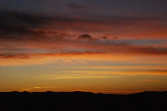 Sunset over Pinto Canyon Marfa, TX, United States