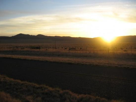 Sunset from Pinto Canyon Road Marfa, TX, United States