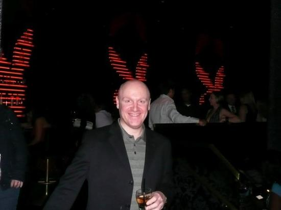 The Playboy Club at the Palms: Me @ The Playboy Club - The Palms with ears !!!!!