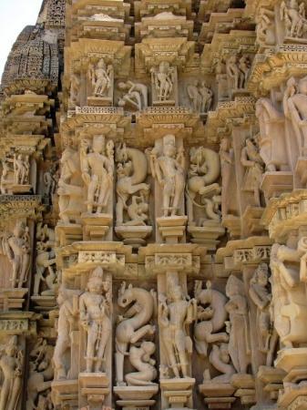 ขจุราโห, อินเดีย: Western temples in Kharjuraho