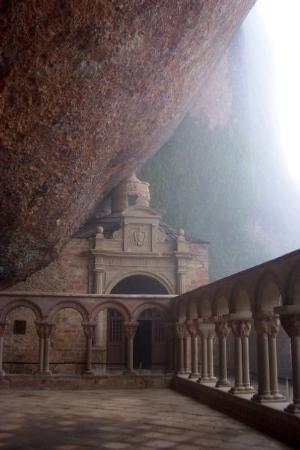 Jaca, İspanya: Monasterio de San Juan de la Peña. Santa Cilia (Huesca)