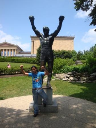 Rocky Statue: Like in the old days