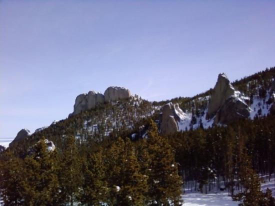 เรดลอดจ์, มอนแทนา: View from the Palisades lift
