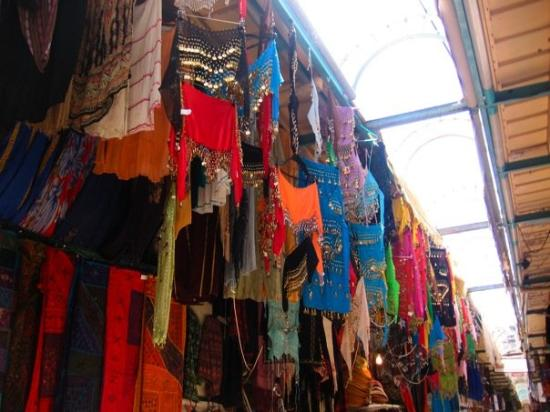 Old City of Jerusalem: And of course, the ever-present belly dancing outfits.