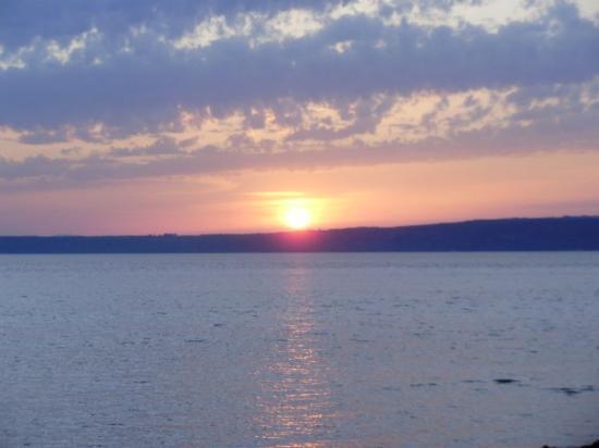 Sunset at Canakkale