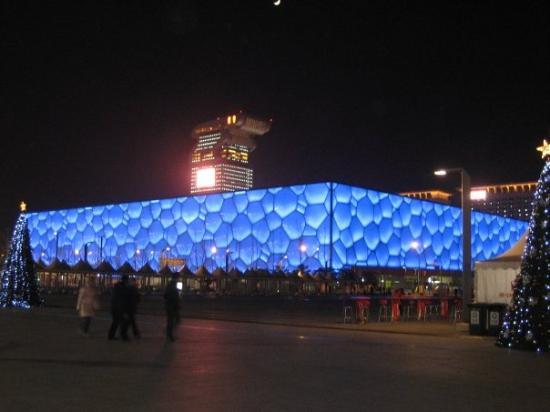 Beijing Aquarium (Beijing Haiyangguan): 水立方,to be hinest...it's gorgeous!!!