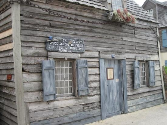 Purportedly The Oldest School House In The Us Picture Of