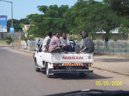 มาปูโต, โมซัมบิก: Streets of Maputo, Mozambique