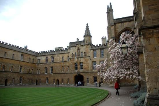 Oxford New College And Here As Well D Picture Of New