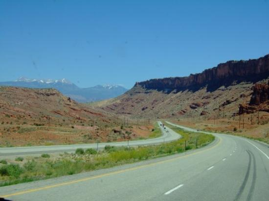 Moab (UT) United States  city images : Driving towards Moab, UT, United States