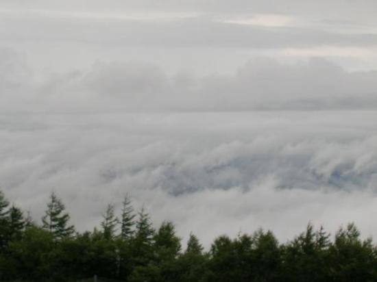 Yamanashi, Japan: ThE vIeW dOwN fRoM FuJi MoUnTaIn... SeA oF cLoUdS