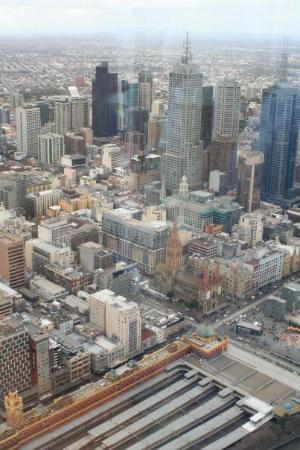 Flinders Street Station: CBD Melbourne