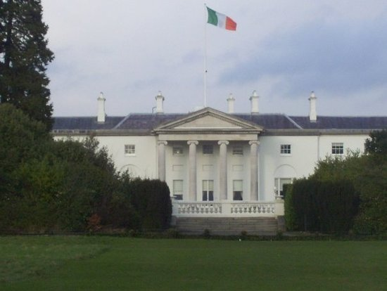 Aras an Uachtarain (The Irish White House) Photo