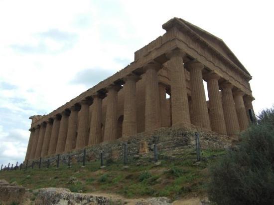 อากริเจนโต, อิตาลี: Temple of Concord, Valley of the Temples, Agrigento