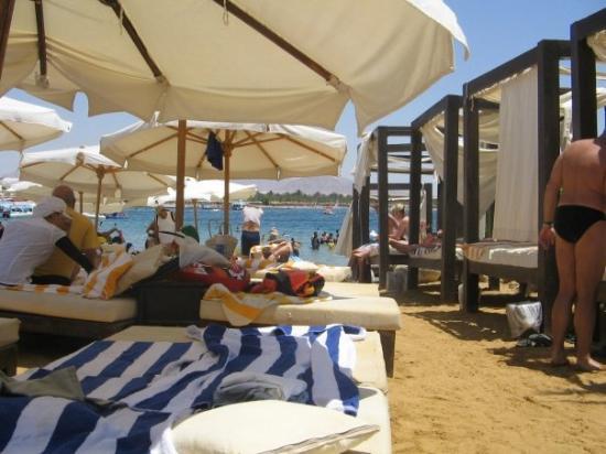 Na'ama Bay: On the beach at Naama Bay, Egypt