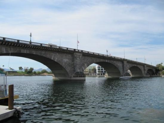 London Bridge - Was taken apart in England and shipped to the US.
