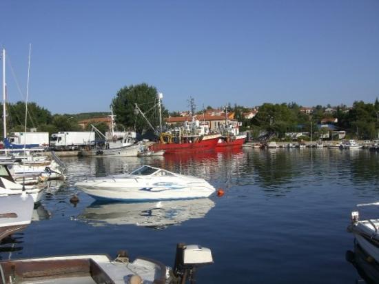 the port of Krk