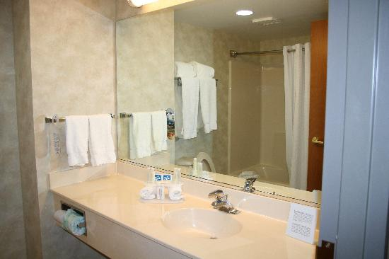 Holiday Inn Express Bethany Beach: bathroom