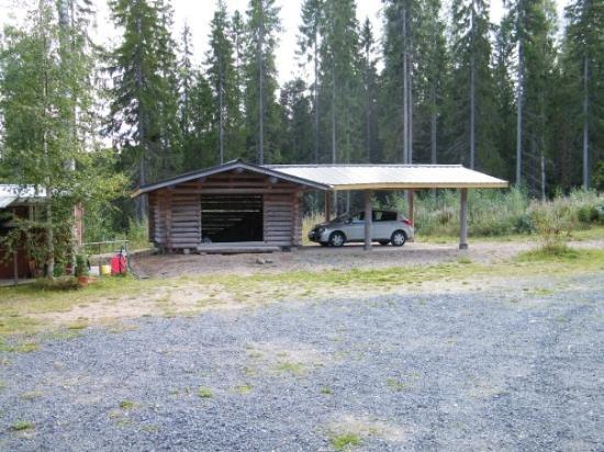 """Kuru, Finland: """"garage""""/wood storage"""