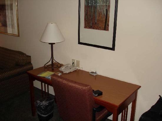 Staybridge Suites Raleigh-Durham Apt-Morrisville: Aug 2009 - Desk