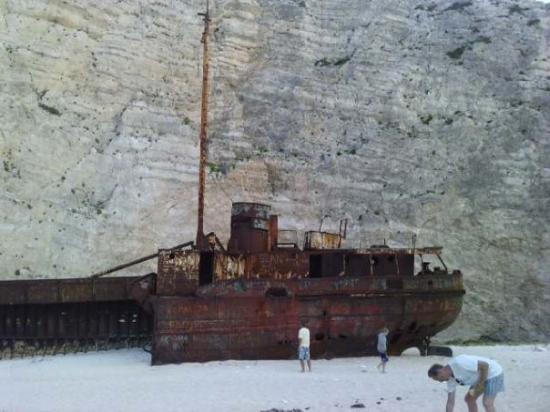 Zakynthos, Greece: Shipwreck Island