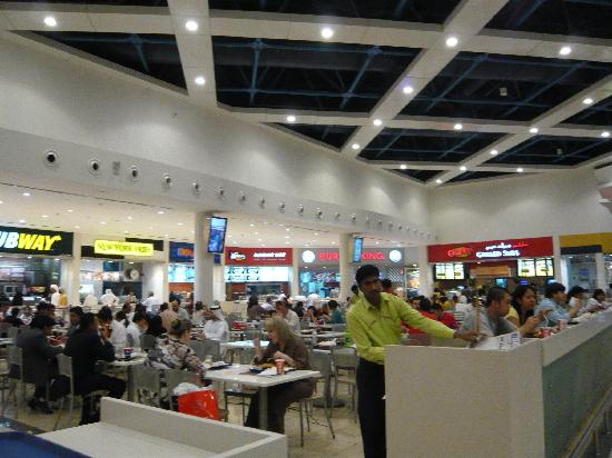 Deira City Center Shopping Mall : フードコート