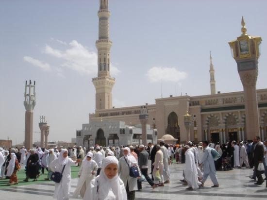 Medina, Suudi Arabistan: At Masjid Nabawi, Madinah Al Munawarah.