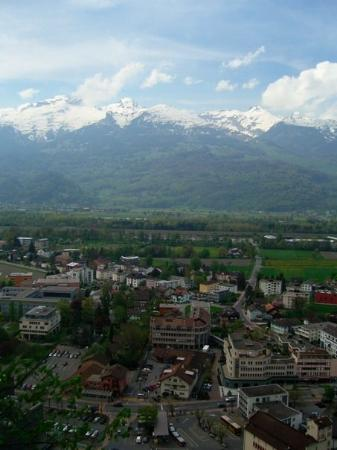 Lichtenstein, Tyskland: The capital city, Vaduz