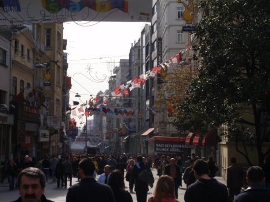 Istiklal Street ภาพถ่าย