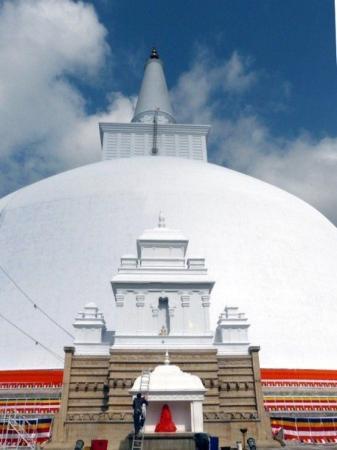 The Great Stupa. Anuradhapura.