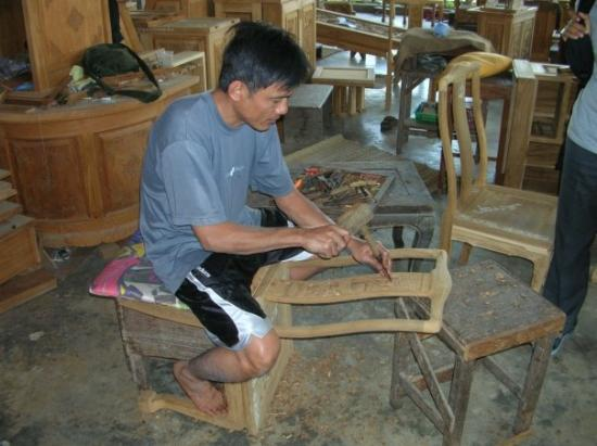 Furniture factory hand carved teak and rosewood for T furniture chiang mai