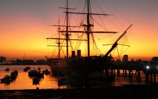 HMS Warrior 1860: HMS Warrior Portsmouth