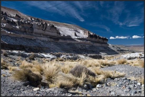 Colca Canyon (หุบเขากอลกา), เปรู: Colca Canyon, Peru way to the colca canyon