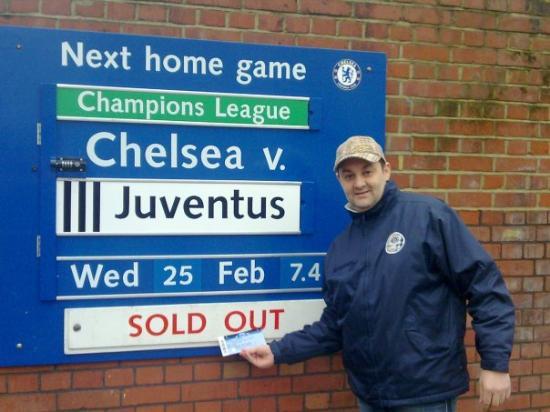 Chelsea FC Stadium Tour & Museum: CHELSEA STADIUM...SOLD OUT