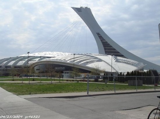 Olympic Park (Parc olympique): Olympic park & inclined tower(170m)