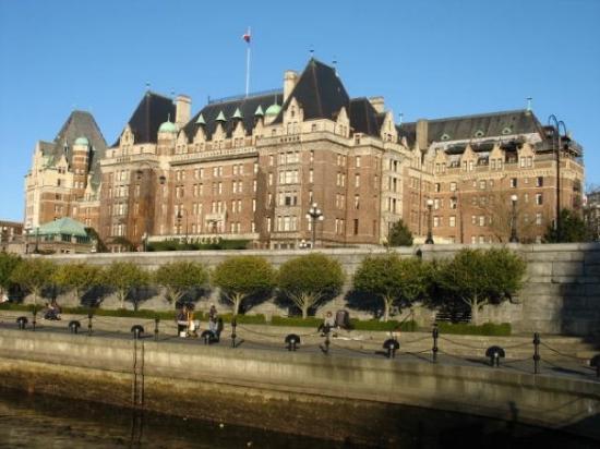 Empress Hotel National Historic Site of Canada ภาพถ่าย