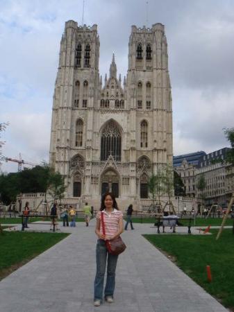 มหาวิหารเซนต์มิคาเอลและเซนต์กูดูลา: 在比利時, 米歇爾大教堂前
