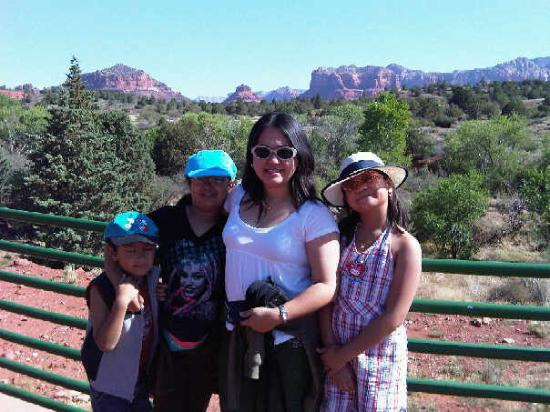 Bell Rock: At Sedona w/ Mitzie