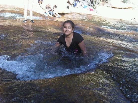 Slide Rock State Park: Shalina at Slide Rock