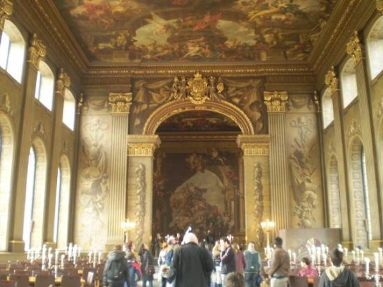 Greenwich-Painted hall