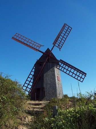 Nantucket, MA: The old windmill