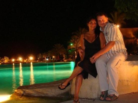 Stella di Mare Grand Hotel: Ein El Sokhna at night