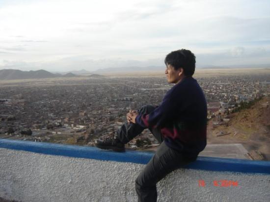 Juliaca, بيرو: Desde el mirador de Juliaca.