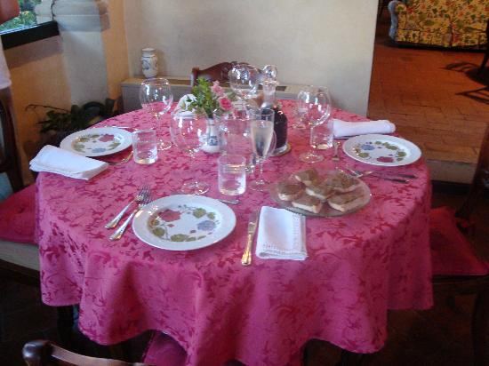 Sesto Fiorentino, Italien: Our Table