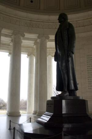 Jefferson Memorial: The water purifier what killed my father.