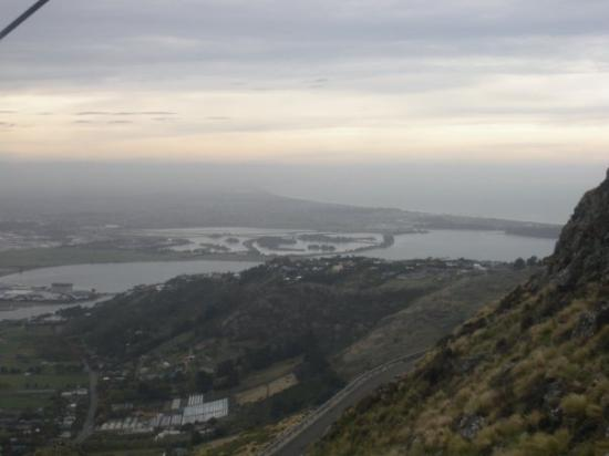Christchurch Gondola: Christchurch in the distance