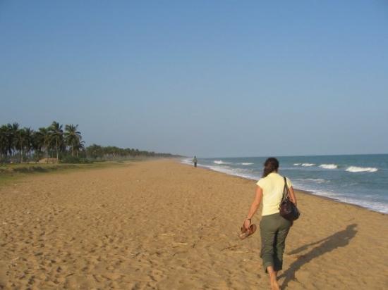 Die Sklavenküste in Cotonou.